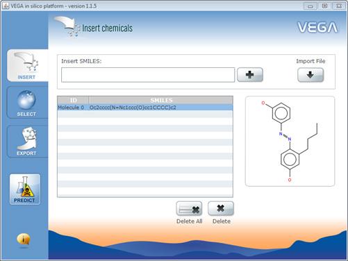 Vega platform software